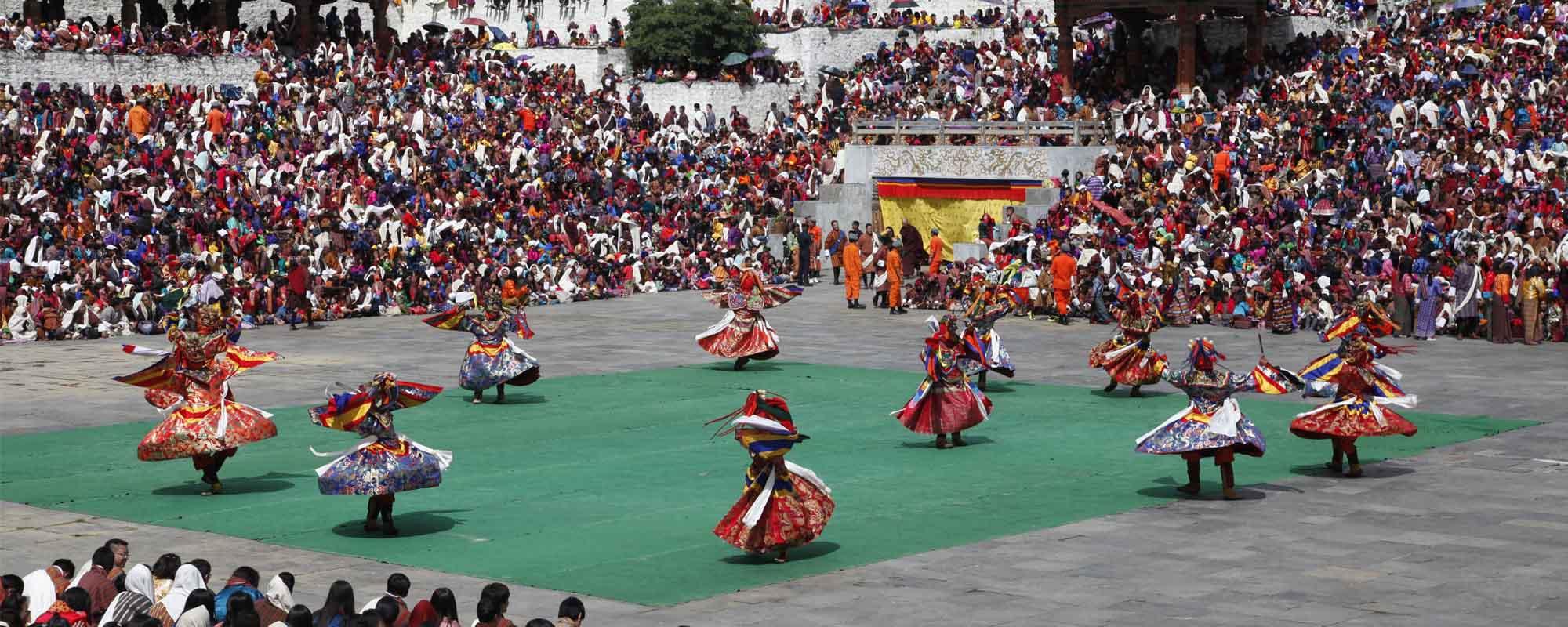 Bhutan Tsechu Festival Tour