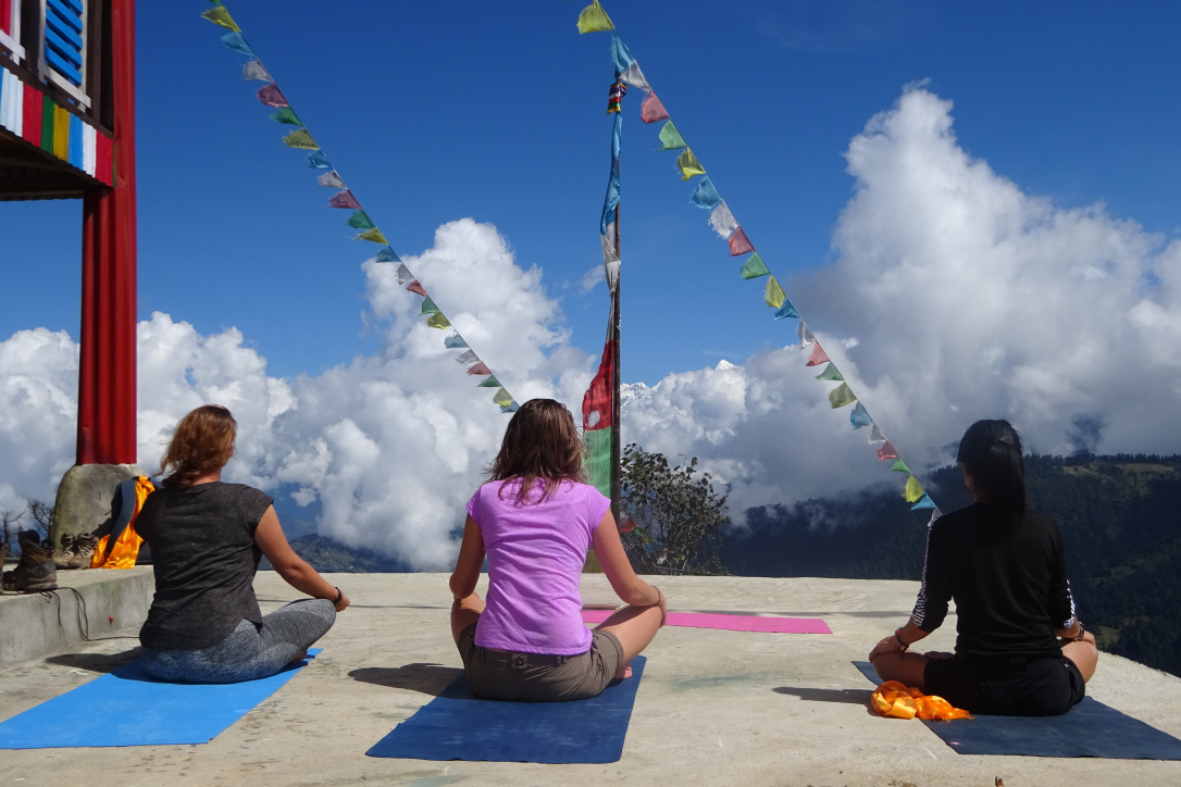 Tsum Valley Yoga Trek